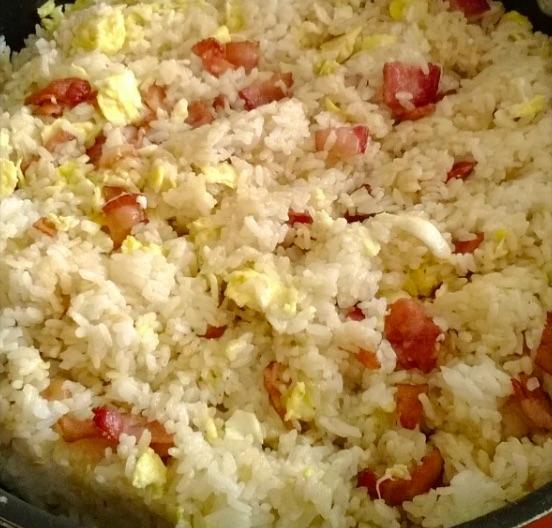 Bacon & Garlic Fried Rice